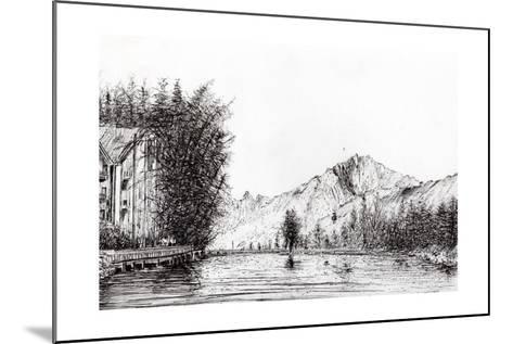 Crans, Switzerland, 2009-Vincent Alexander Booth-Mounted Giclee Print
