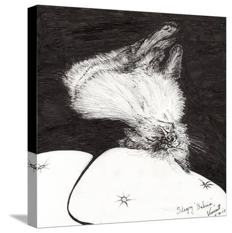 Sleepy Belina, 2015-Vincent Alexander Booth-Stretched Canvas Print