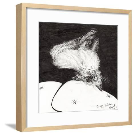 Sleepy Belina, 2015-Vincent Alexander Booth-Framed Art Print