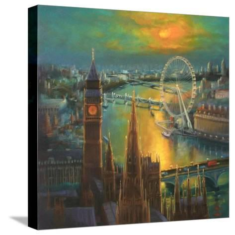 Waterloo Sunrise, 2015-Lee Campbell-Stretched Canvas Print