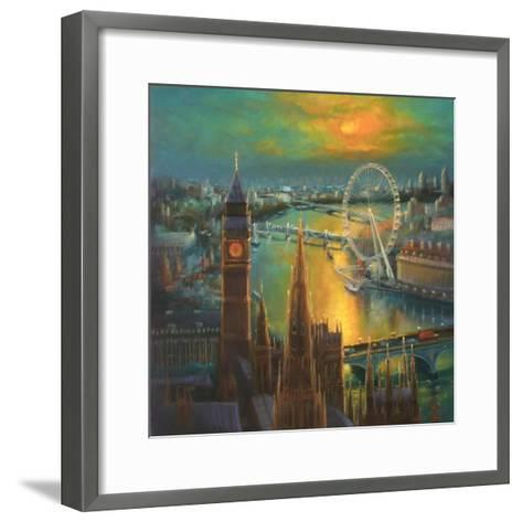 Waterloo Sunrise, 2015-Lee Campbell-Framed Art Print