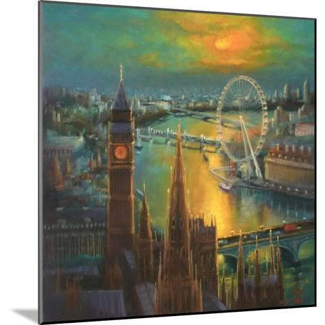 Waterloo Sunrise, 2015-Lee Campbell-Mounted Giclee Print