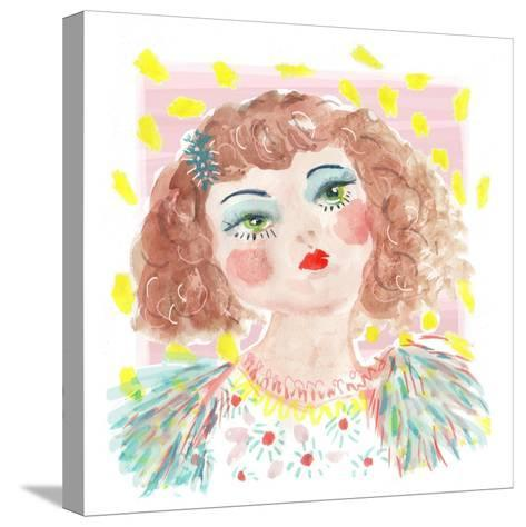 Vintage Doll 2, 2014-Jo Chambers-Stretched Canvas Print