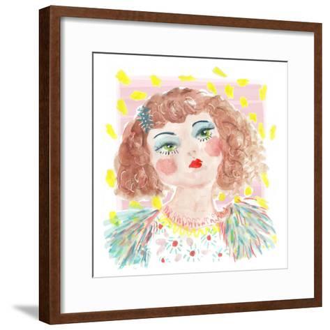 Vintage Doll 2, 2014-Jo Chambers-Framed Art Print