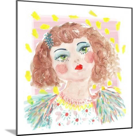 Vintage Doll 2, 2014-Jo Chambers-Mounted Giclee Print