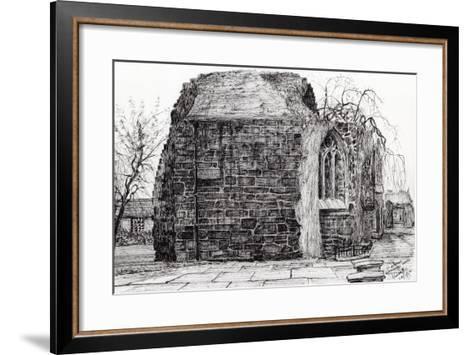 Blackfrierschapel, St. Andrews, 2007-Vincent Alexander Booth-Framed Art Print