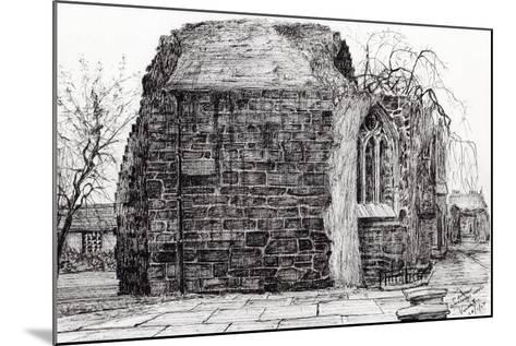 Blackfrierschapel, St. Andrews, 2007-Vincent Alexander Booth-Mounted Giclee Print