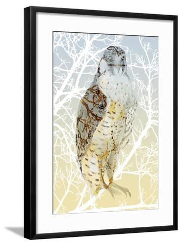 Peregrine Falcon, 2015-Nancy Moniz Charalambous-Framed Art Print