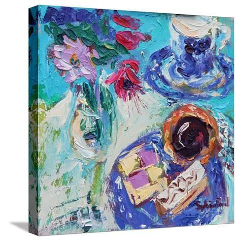 Jam Tart-Sylvia Paul-Stretched Canvas Print