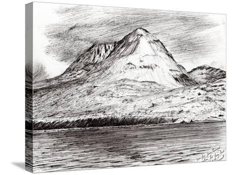Paps of Jura, 2005-Vincent Alexander Booth-Stretched Canvas Print