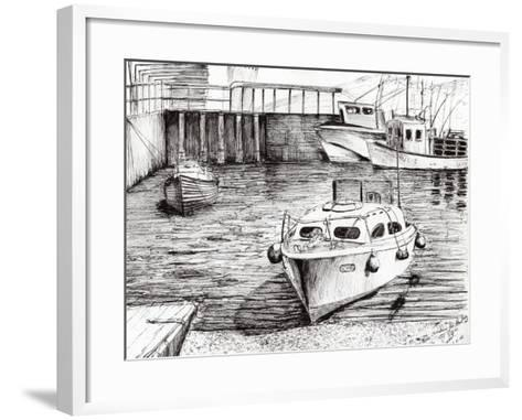 Boats, Islay, Scotland, 2005-Vincent Alexander Booth-Framed Art Print