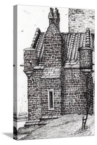 Wallace Monument,The Small House, 2007-Vincent Alexander Booth-Stretched Canvas Print