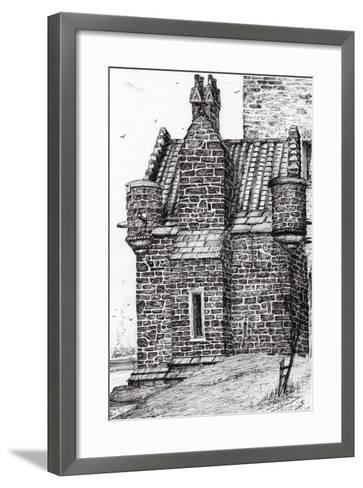 Wallace Monument,The Small House, 2007-Vincent Alexander Booth-Framed Art Print