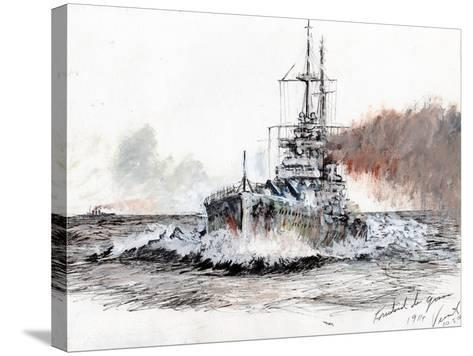 Friedrich Der Grosse, 1914-Vincent Alexander Booth-Stretched Canvas Print