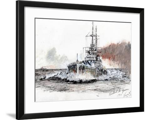 Friedrich Der Grosse, 1914-Vincent Alexander Booth-Framed Art Print