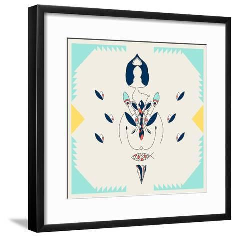 Inseed Annimo--Framed Art Print