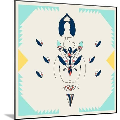 Inseed Annimo--Mounted Art Print