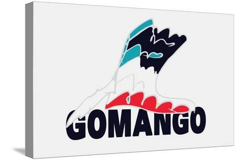 Go Man Go Annimo--Stretched Canvas Print