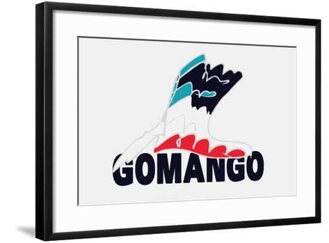 Go Man Go Annimo--Framed Art Print