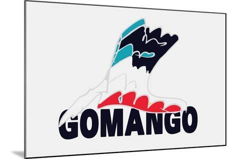 Go Man Go Annimo--Mounted Art Print