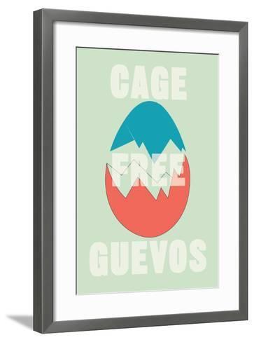 Annimo Cage Free Guevos--Framed Art Print