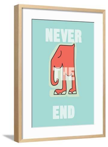 Annimo Never The End--Framed Art Print