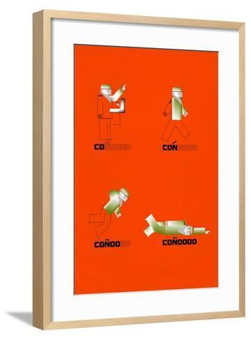 Castro the Great Fall by Annimo--Framed Art Print