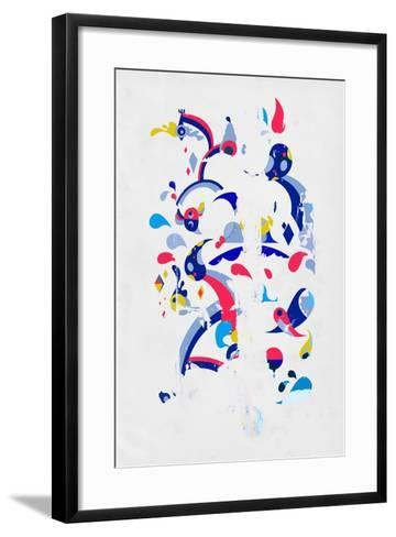 Monsters Off the Wall by Annimo--Framed Art Print