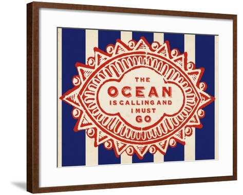 Nautical Advice 5-Z Studio-Framed Art Print
