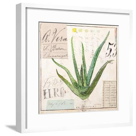 Aloe Vera…Sketchbook-Angela Staehling-Framed Art Print