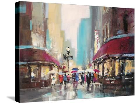 Paris Metro-Brent Heighton-Stretched Canvas Print