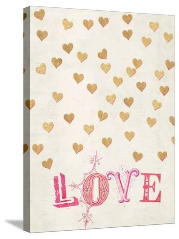 Romance Collection Love-Miyo Amori-Stretched Canvas Print