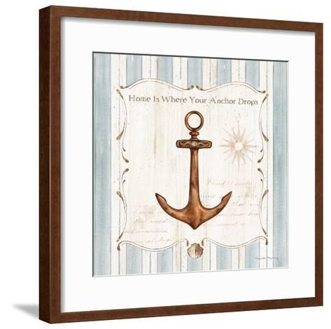 Captain's Notes 1-Danielle Murray-Framed Art Print