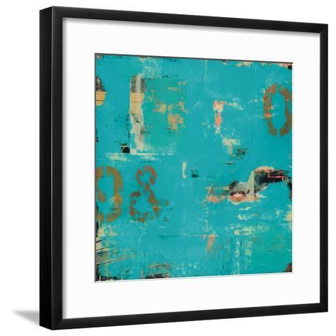 Urban Collage 9&0-Deanna Fainelli-Framed Art Print