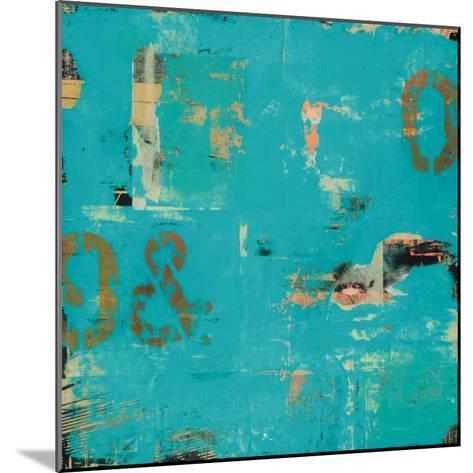 Urban Collage 9&0-Deanna Fainelli-Mounted Art Print