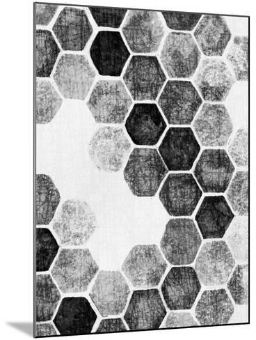 Natural Architecture 1 B&W-Edith Lentz-Mounted Art Print