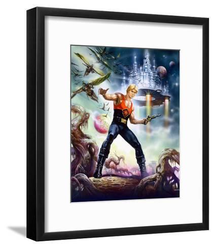 Flash Gordon--Framed Art Print