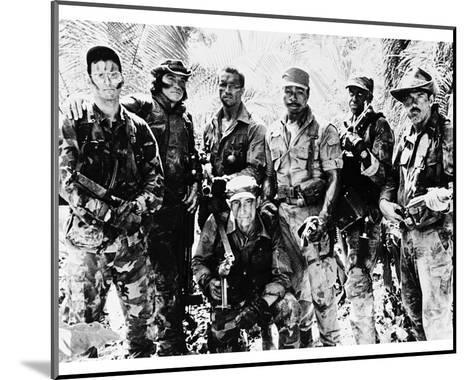 Commando--Mounted Photo