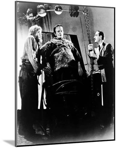 Frankenstein--Mounted Photo