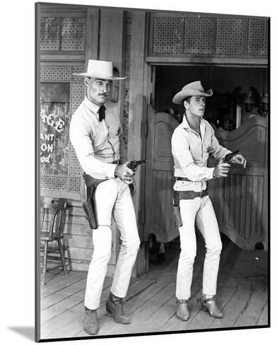 Lawman--Mounted Photo