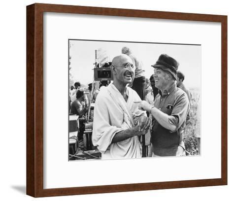 Gandhi--Framed Art Print