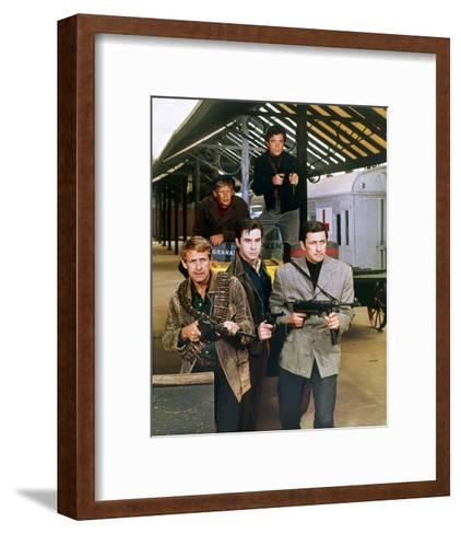 Garrison's Gorillas--Framed Art Print