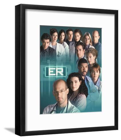 ER--Framed Art Print