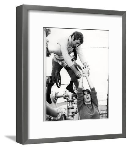 The Girl from U.N.C.L.E.--Framed Art Print