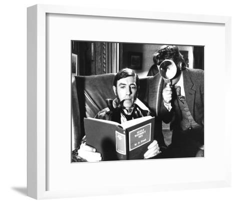 The Hound of the Baskervilles--Framed Art Print
