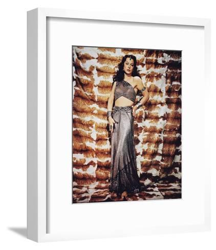 Samson and Delilah--Framed Art Print
