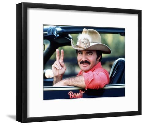 Smokey and the Bandit--Framed Art Print