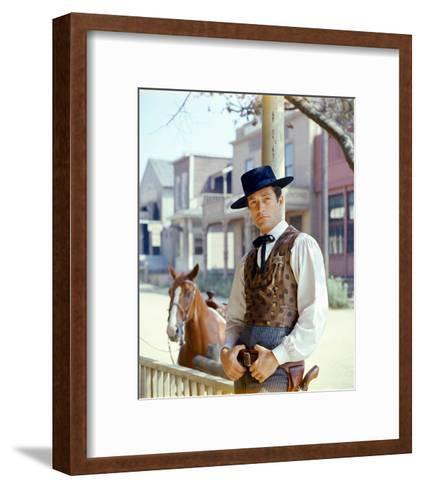 The Life and Legend of Wyatt Earp--Framed Art Print
