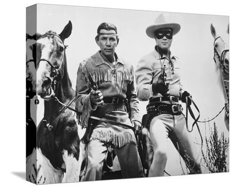 The Lone Ranger--Stretched Canvas Print