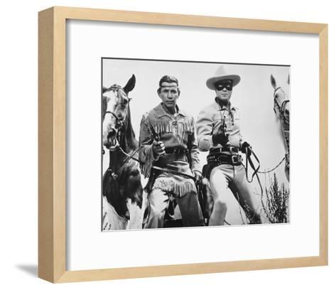 The Lone Ranger--Framed Art Print